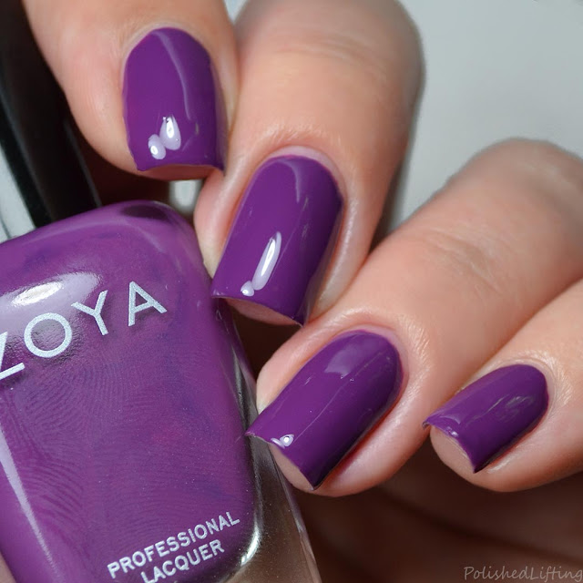 grape creme nail polish