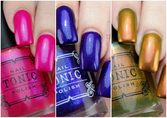 Tonic Polish bright shimmers