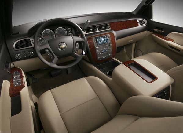 2012 Chevrolet Suburban Interior