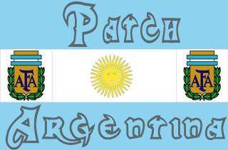 Patch Argentina Brasfoot 2016 Grátis