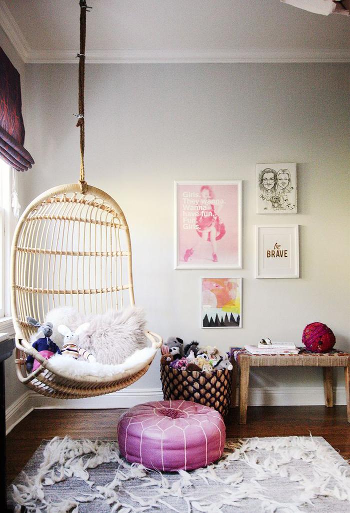 Rafa-kids : Hanging chair in kids rooms