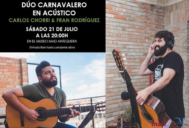 Dúo Carnavalero en el MAD Antequera
