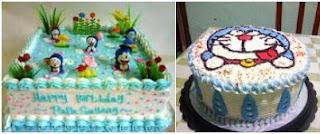 Gambar Kue Ulang Tahun Doraemon Keren