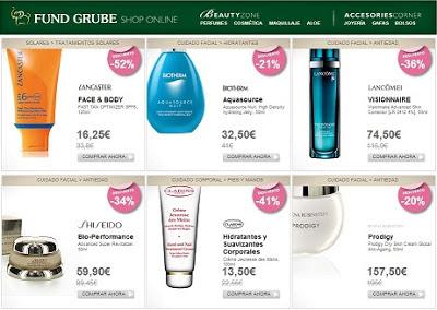 Productos de belleza Fund Grube