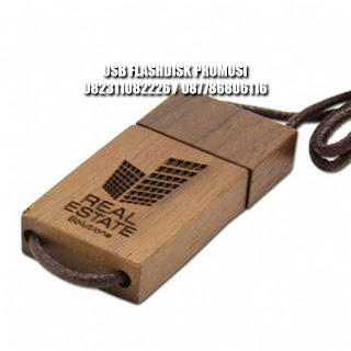 usb flashdisk kayu model tambang