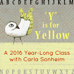 Join me; I'm taking Carla's class: