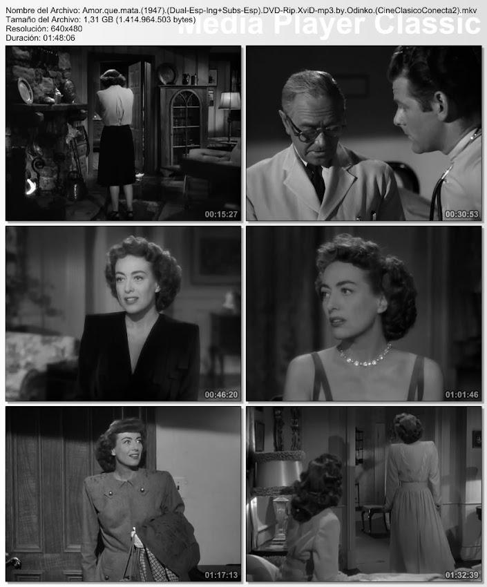 Amor que mata | 1947 | Possessed | imágenes de la película