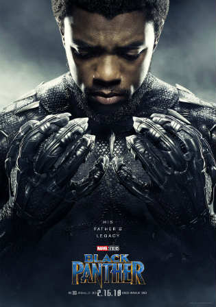 Black Panther 2018 HDCAM 900MB Hindi Dual Audio x264 Watch Online Full Movie Download bolly4u