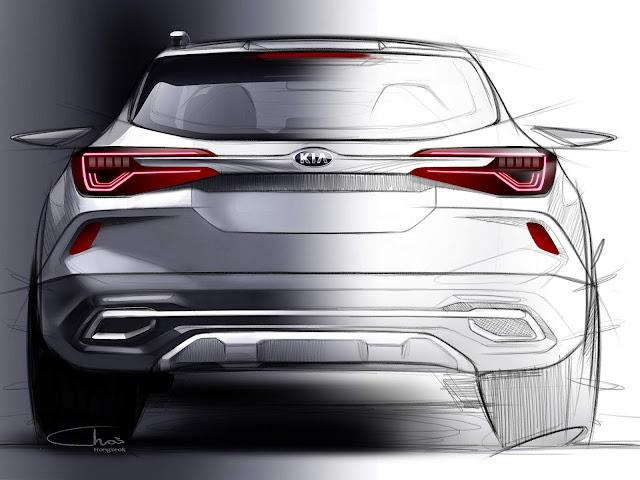 Kia revela primeiras imagens do novo SUV compacto - concorrente do T-Cross