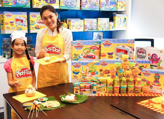 play-doh, play-doh malaysia, play-doh event, food from play-doh,