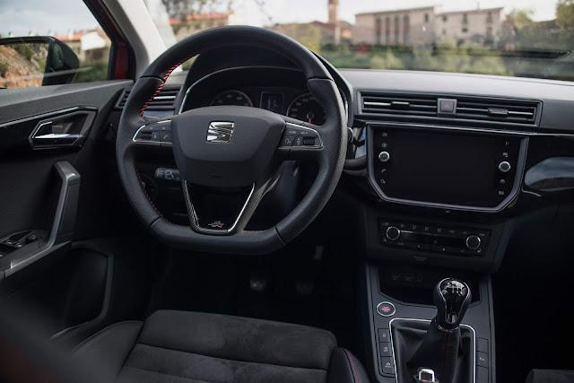 2018 Seat Ibiza FR - painel