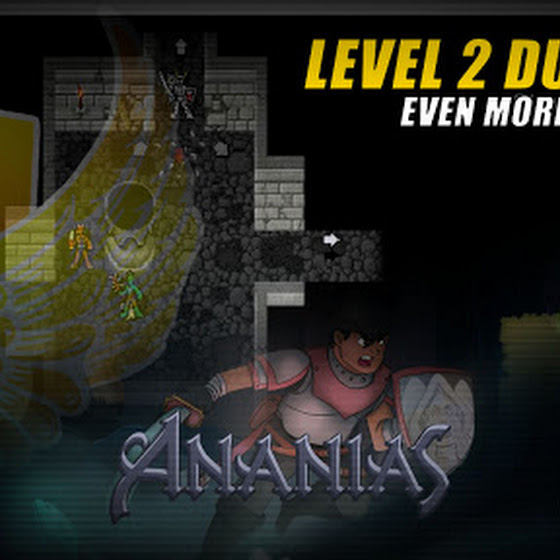 Ananias Roguelike ★ Level 2 Dungeon ★ Even More Monsters O_o