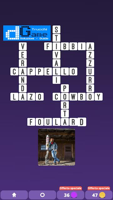 Soluzioni One Clue Crossword livello 21 schemi 1 (Cruciverba illustrato)  | Parole e foto