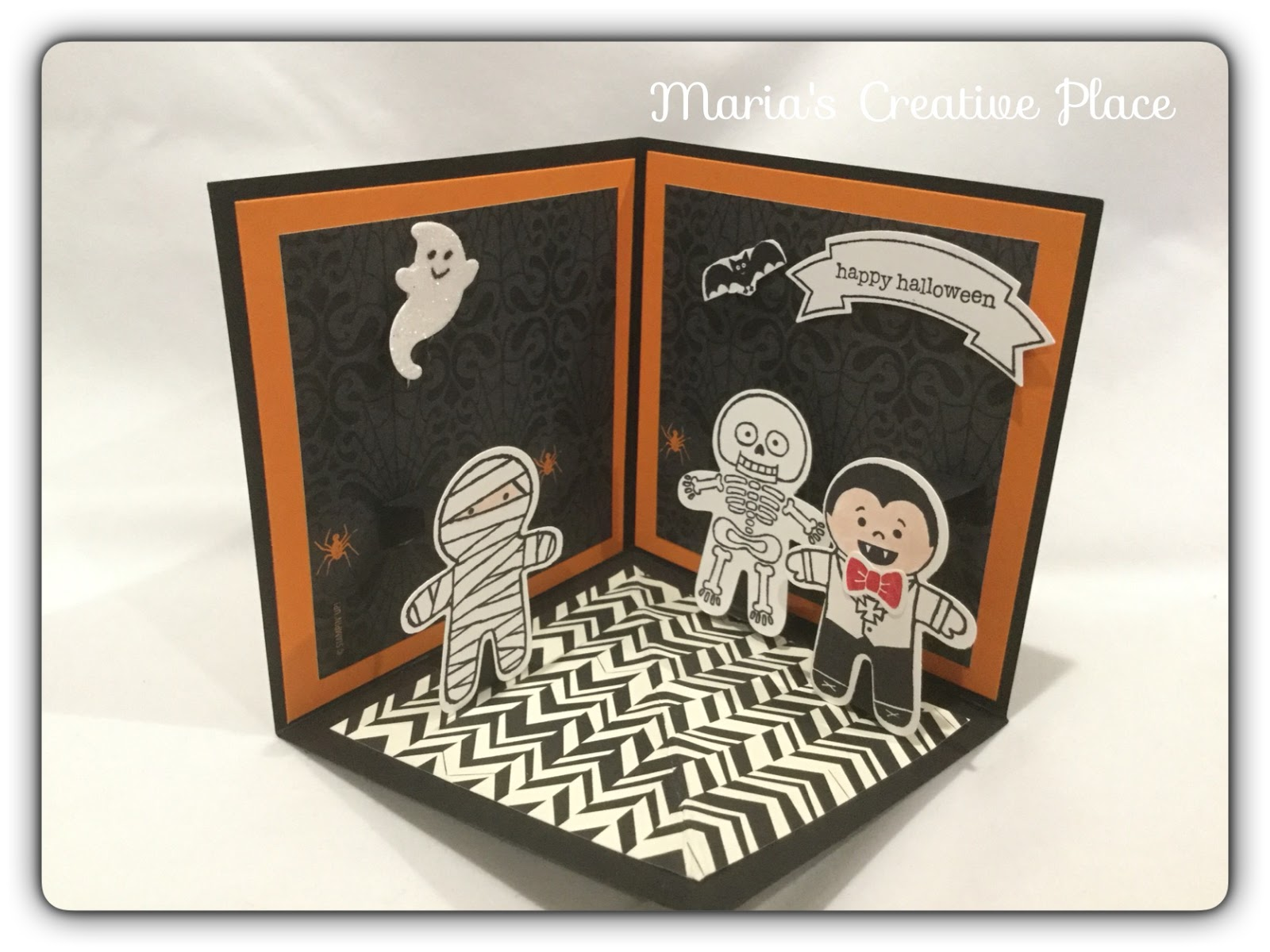 Maria's Creative Place: Halloween Projects 2016