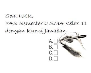 Download Soal UKK PKK, PAS Semester 2 SMA Kelas 11 dengan Kunci Jawaban