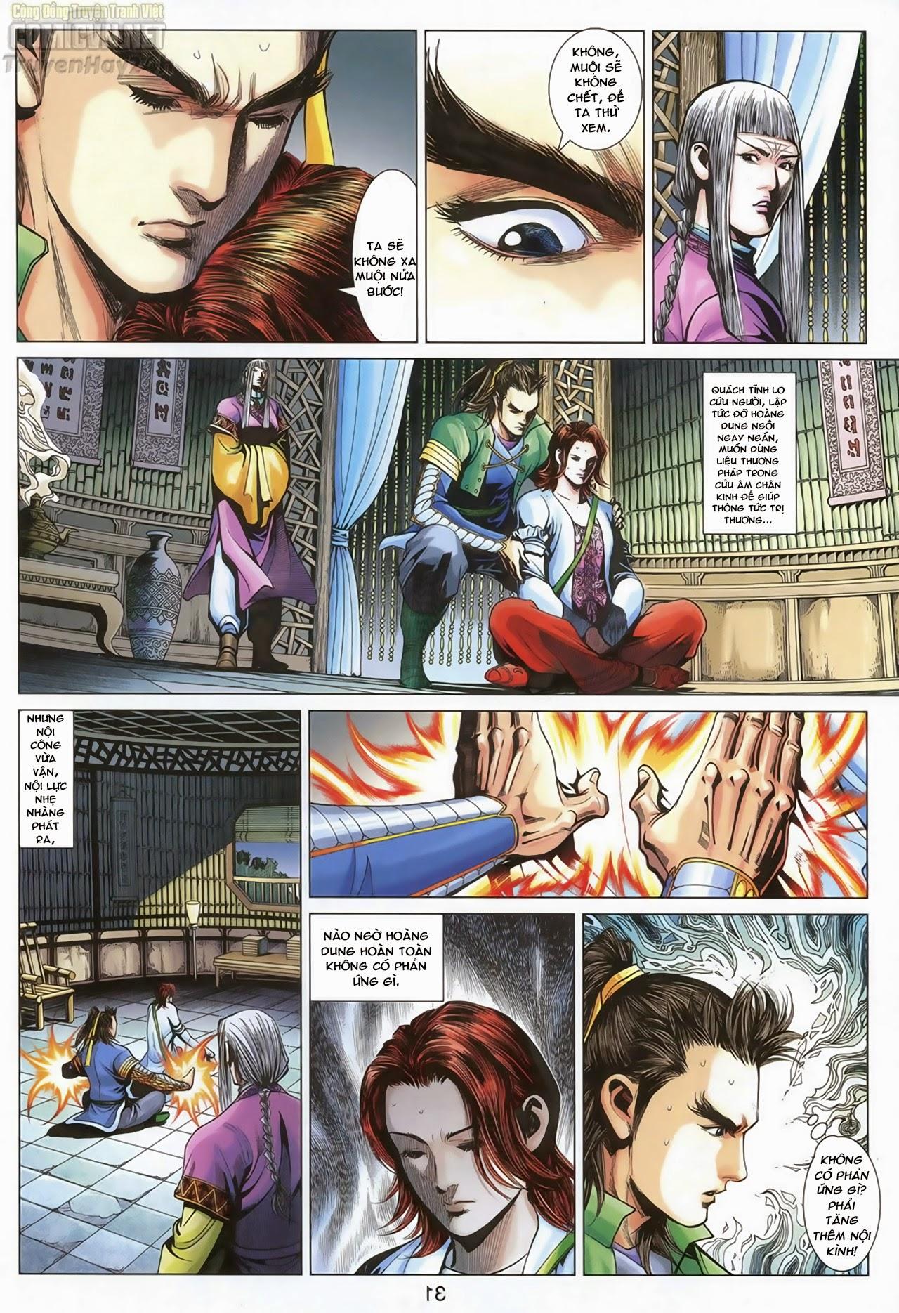 Anh Hùng Xạ Điêu anh hùng xạ đêu chap 70: hắc chiểu ẩn nữ trang 32