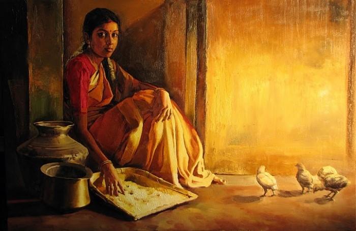 Индийский художник.