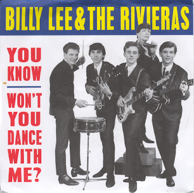 Billy Lee & The Rivieras – You Know  Won't You Dance With Me 7''