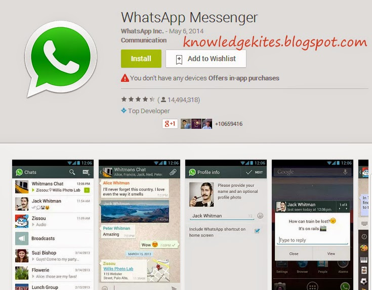 WhatsApp - Best Chatting App
