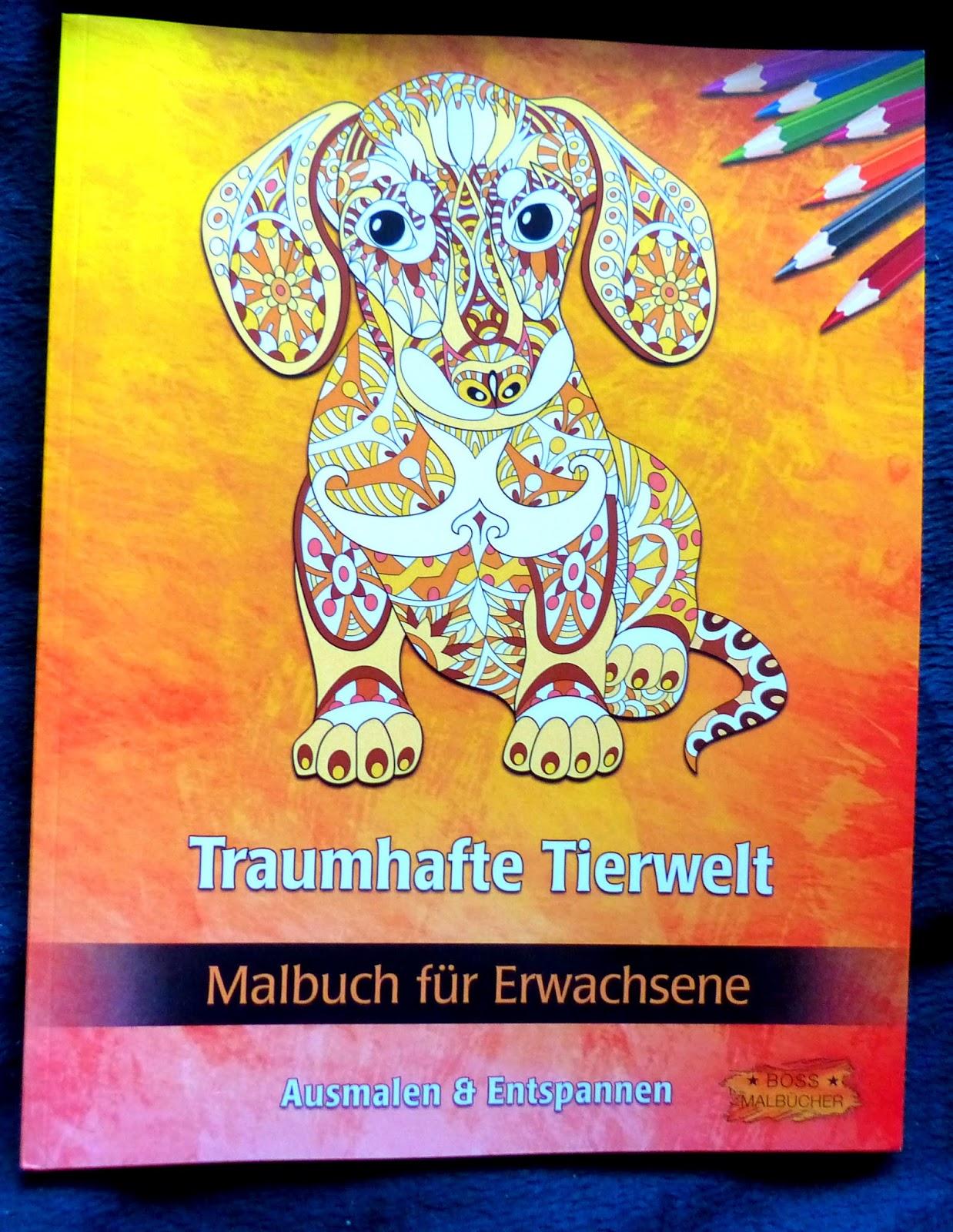 Lucy-und-Rasselbande-Testet: Traumhafte Tierwelt: Malbuch für Erwachsene