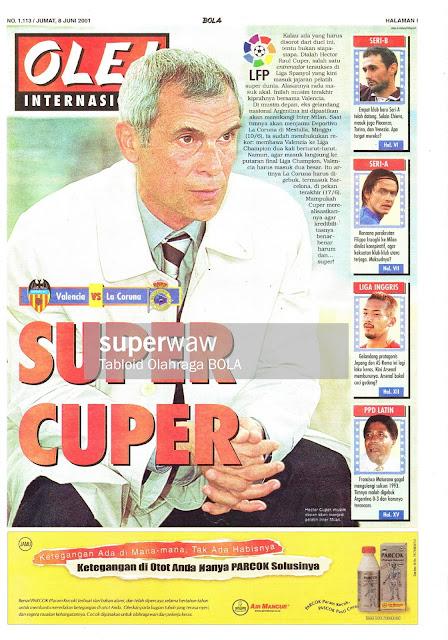 SUPER HECTOR CUPER NEWS 2001