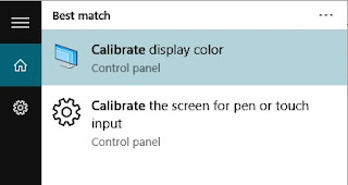 Calibrate Display Color