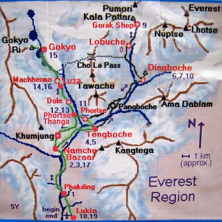 Trekking de Lukla al Gokyo Ri