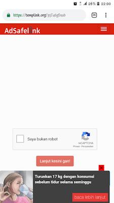 Cara mudah mendownload short link adsafelink