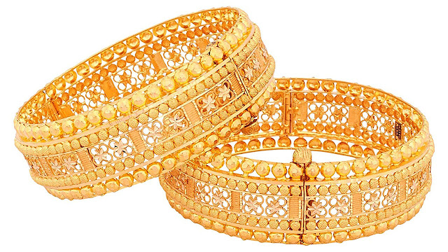 Senco Gold 22k (916) Yellow Gold Bangle for Women
