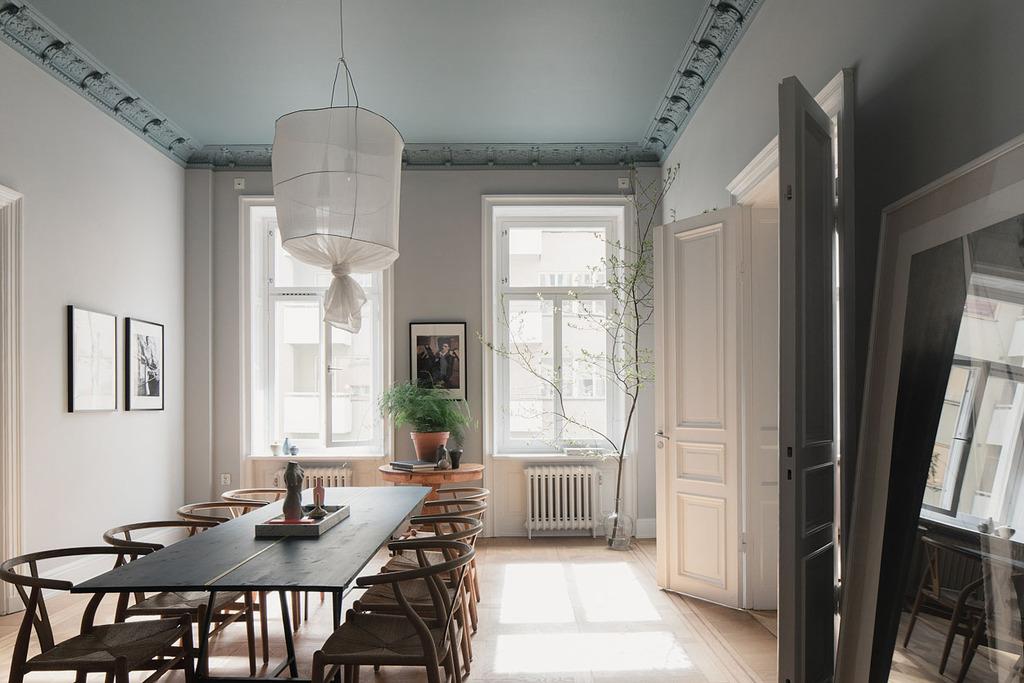Un raffinato appartamento svedese