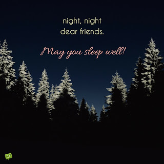 Unique Quotes on Winter Good Night