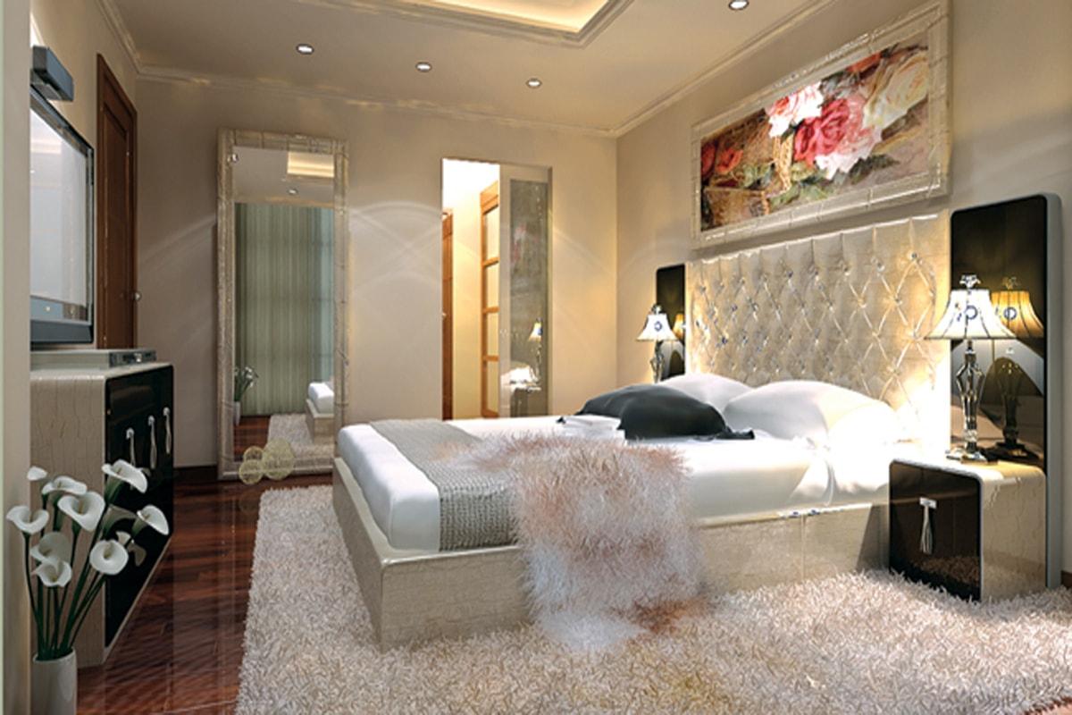 Căn hộ 4 phòng ngủ goldmark city