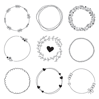 free-download-hand-drawn-wreaths