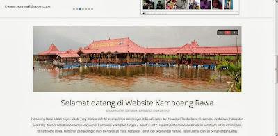jalur lingkar ambarawa website kampoeng rawa
