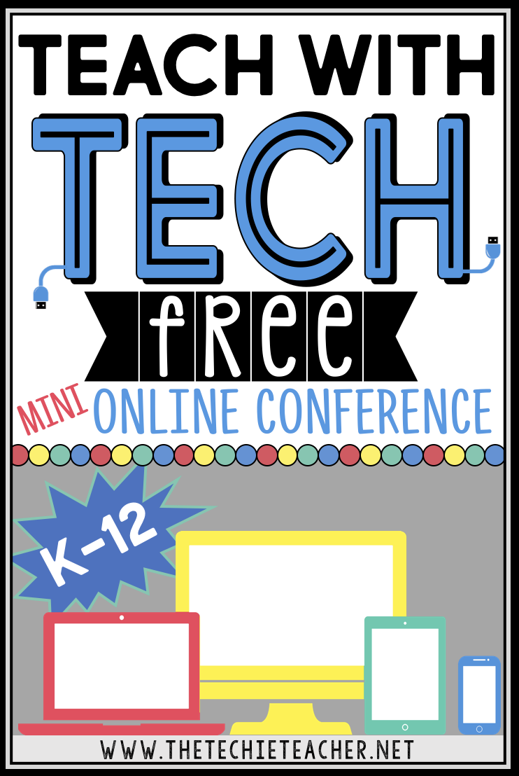 Come learn in your PJs this summer by attending the FREE Tech with Tech K-12 Online Conference! Great Ed tech PD for all educators.