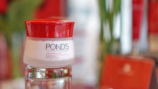 Ponds Age Miracle Wrinkle Corrector Day Cream Review + Event Report!