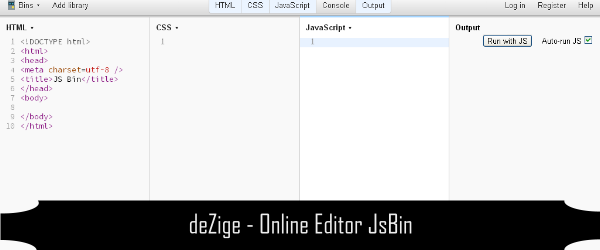 Online Editor CSS HTML Javascript 4