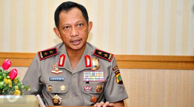 Kapolri Sebut jika Ada Bukti Kuat Makar Gulingkan Pemerintahan Jokowi