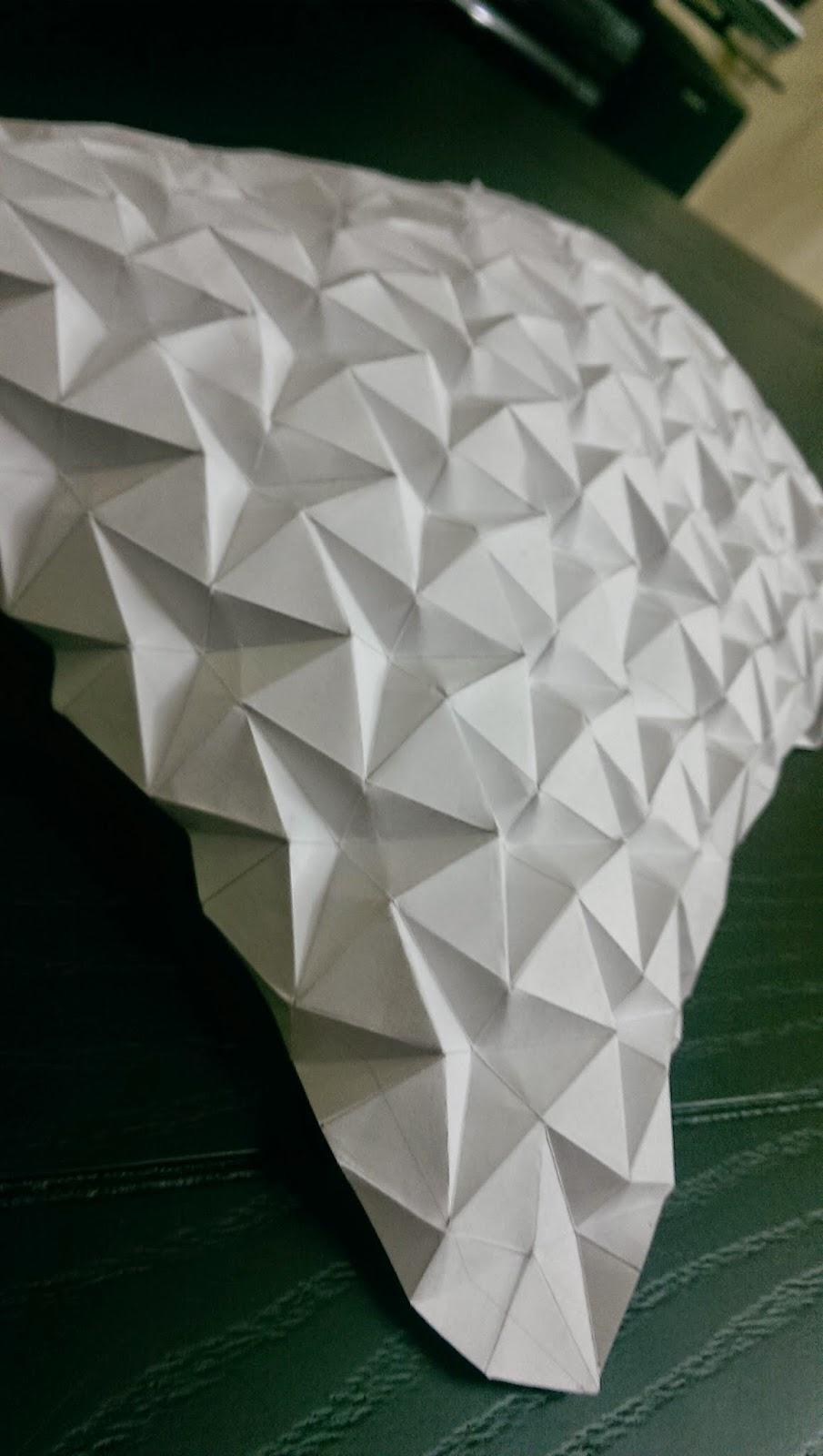 ORIGAMI: T3 - Origami tessellations/ Utilizing triangles
