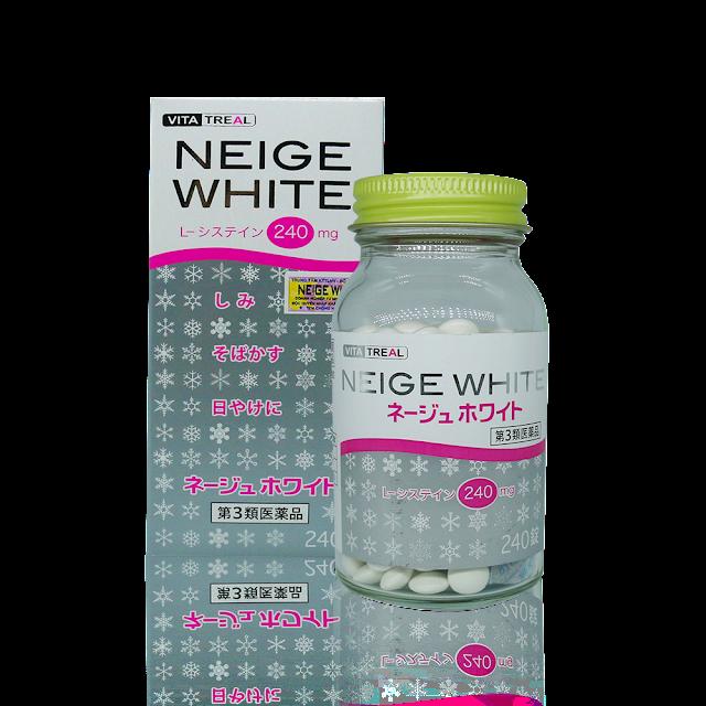 Neige White - Viên uống trị nám hiệu quả của Nhật Bản