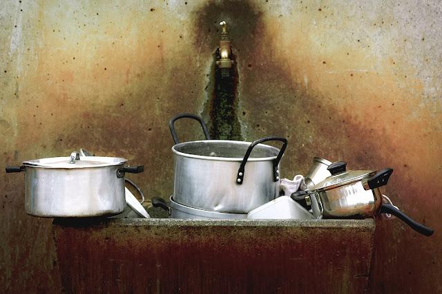 restauracja, brudne naczynia, zmywarka gastronomiczna,