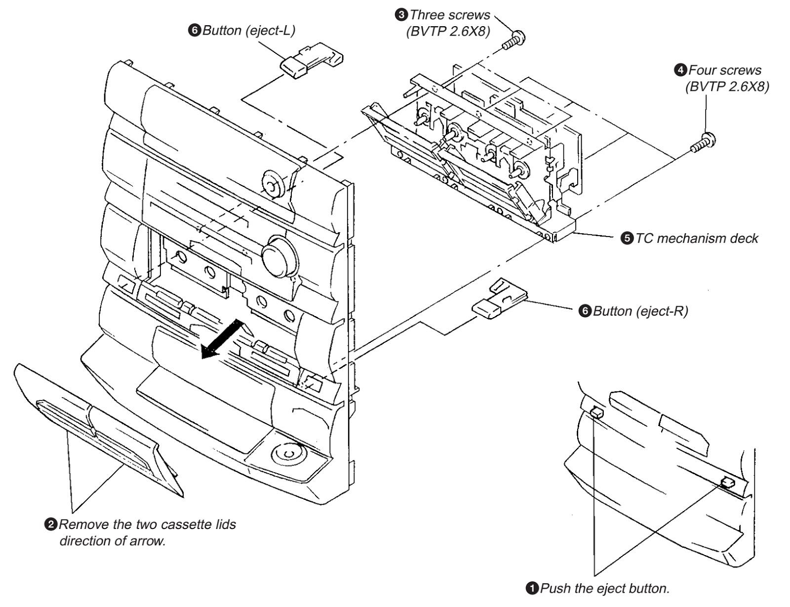 SONY - HCD D670AV