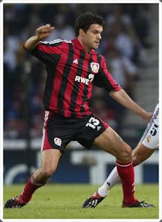 Michael Ballack Bayer Leverkusen