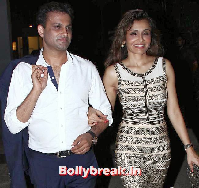 Queenie Singh, Bollywood Celebs at Kangana Ranaut Birthday Bash Pics
