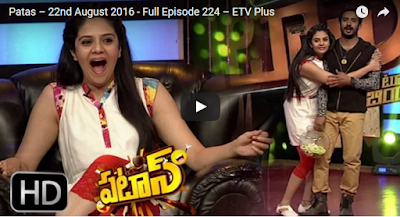 Patas Srimiukhi - Ravi Comedy Show – 23th August  2016