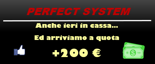Perfect System - sistema excel per le scommesse