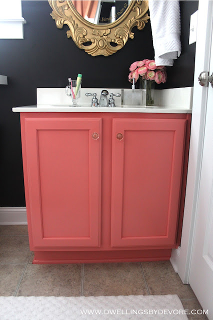 Vanity paint color for bathroom
