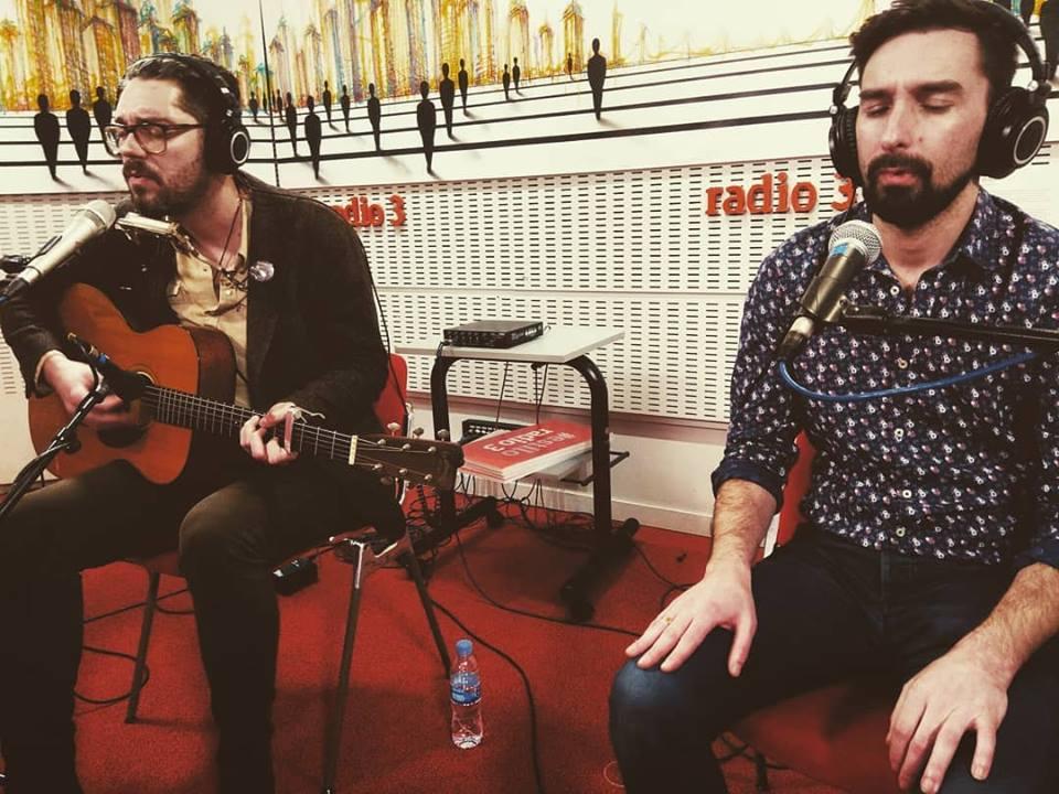 Fabián y Alfredo González en Radio3