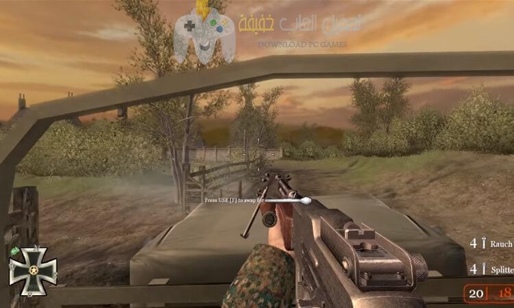تحميل لعبة كول اوف ديوتى 2 مضغوطة برابط مباشر