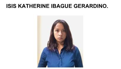 Isis katherinne Ibague Gerardino.